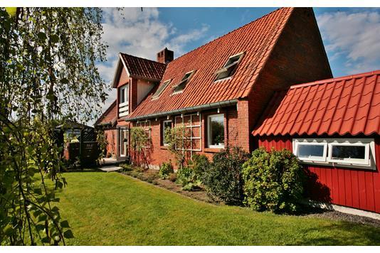 Villa på Slårupvej i Tørring - Facade