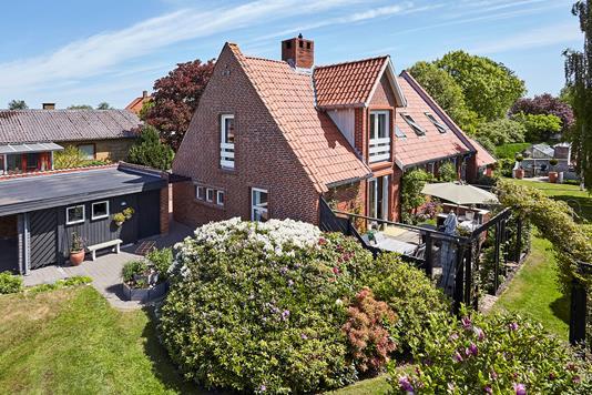 Villa på Slårupvej i Tørring - Mastefoto