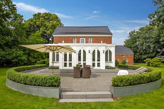 Villa på Honumvej i Rask Mølle - Terrasse