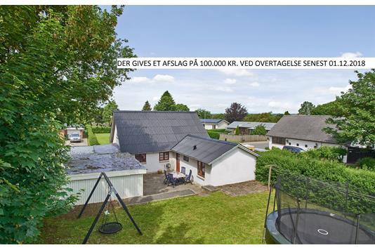 Villa på Uldumvej i Tørring - Set fra haven