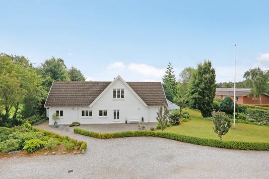 Villa på Kærvejen i Uldum - Mastefoto