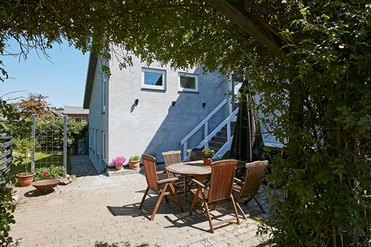 Villa på Grønnevej i Tørring - Terrasse