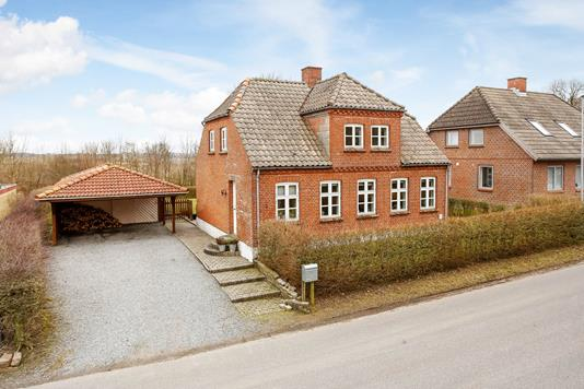 Villa på Østerenden i Flemming - Mastefoto