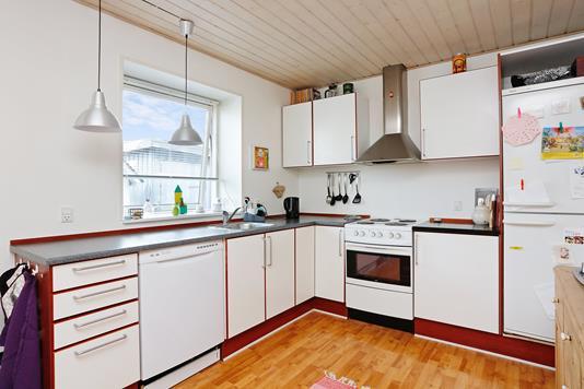 Villa på I P Hansens Vej i Uldum - Køkken