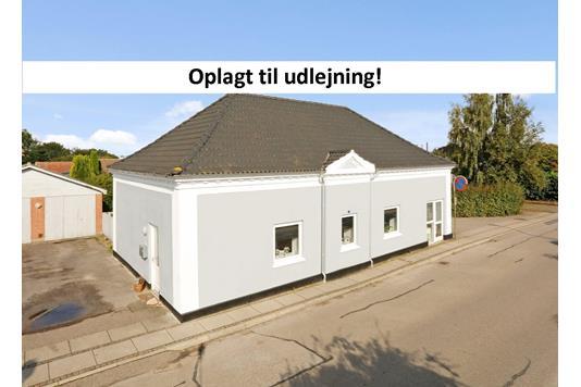 Villa på I P Hansens Vej i Uldum - Facade