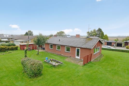 Villa på Brorsonsvej i Flemming - Mastefoto