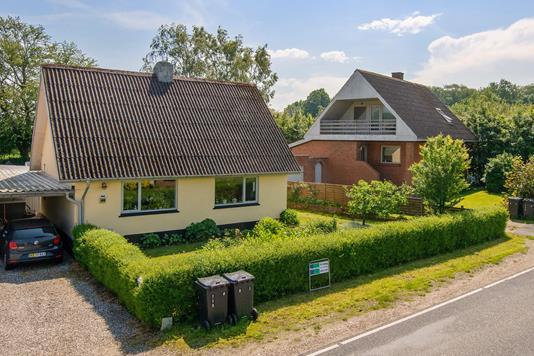 Villa på Hobro Landevej i Tjele - Mastefoto