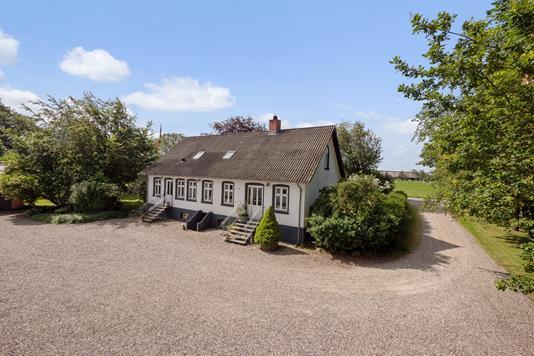 Villa på Ingstrup Møllevej i Tjele - Mastefoto
