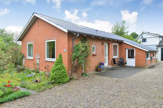 Villa på Gartnerbakken i Tjele - Ejendommen