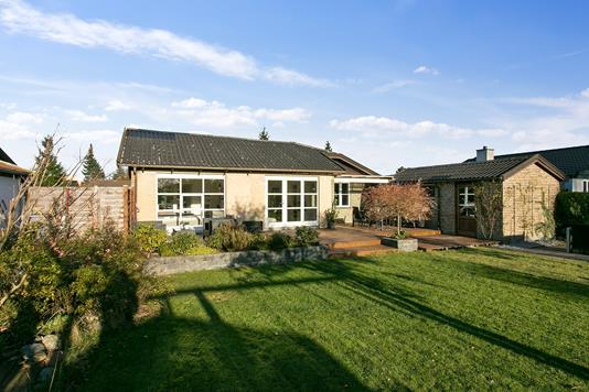 Villa på Horsevang i Skovlunde - Set fra haven