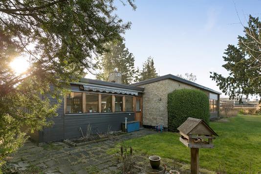 Villa på Agnetevej i Skovlunde - Set fra haven