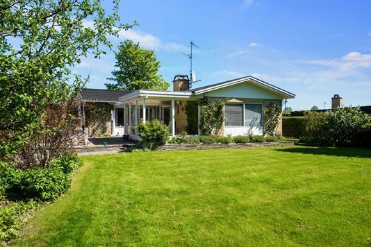 Villa på Nissedalen i Skovlunde - Set fra haven
