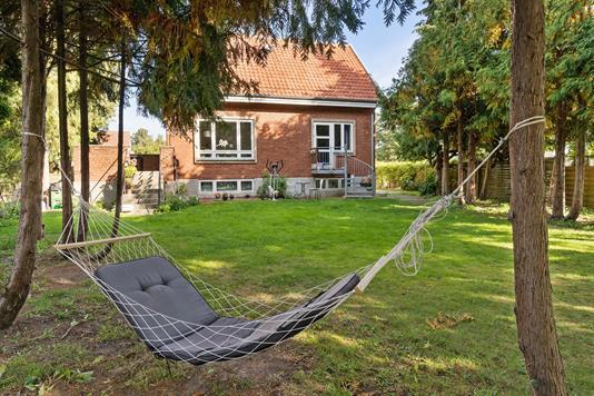 Villa på Klintekongevej i Herlev - Set fra haven