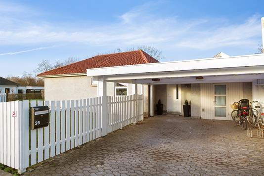 Villa på Græsvang i Skovlunde - Set fra vejen