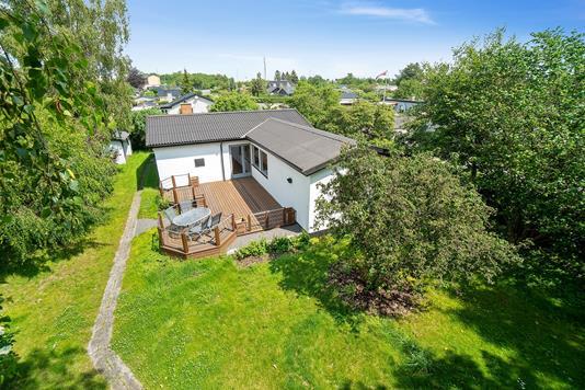 Villa på Humlevang i Skovlunde - Set fra haven