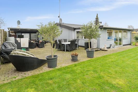 Villa på Højbyvej i Skovlunde - Set fra haven