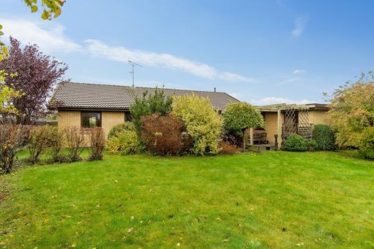Villa på Lystoften i Skovlunde - Set fra haven
