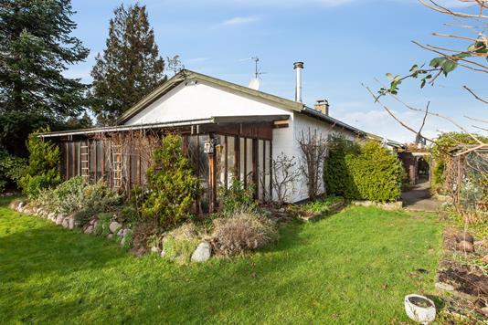 Villa på Tangevej i Skovlunde - Set fra haven
