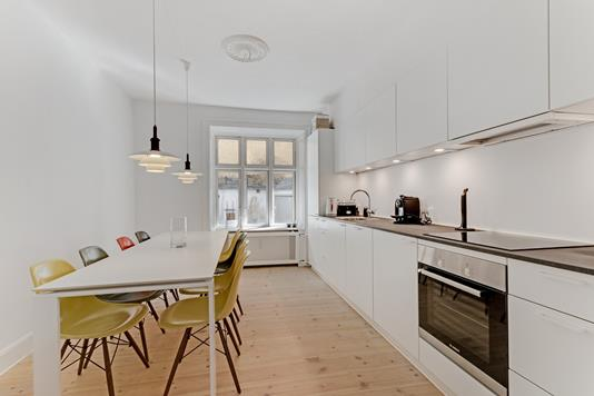 Ejerlejlighed på Sankt Jørgens Allé i København V - Køkken