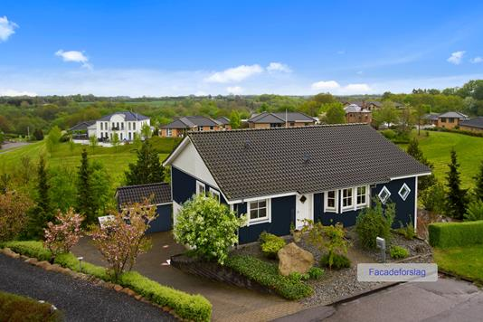 Villa på Lilholtparken i Børkop - Set fra haven