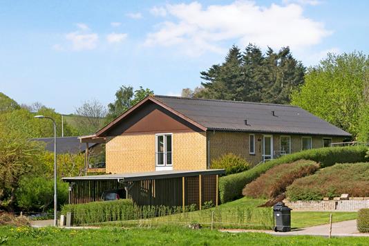 Villa på Skovvænget i Børkop - Ejendommen