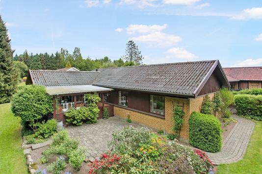 Villa på Mejsevej i Børkop - Ejendommen
