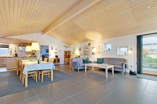Villa på Poppelvang i Børkop - Stue