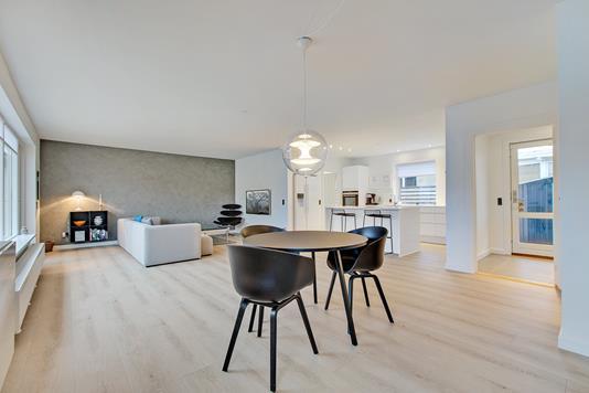 Villa på Brejning Søndergade i Børkop - Stue