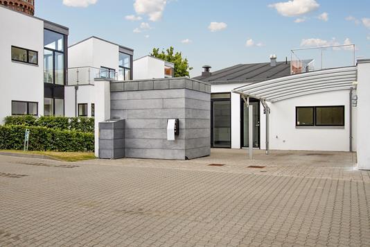 Villa på J.L. Varmingsvej i Børkop - Ejendommen