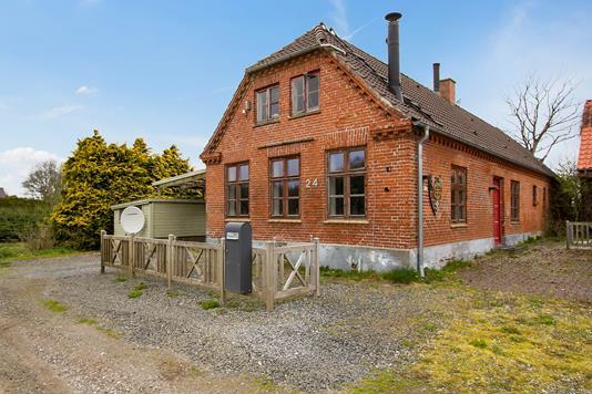Villa på Klattrup Bygade i Fredericia - Set fra vejen