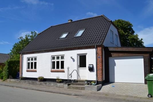 Villa på Stendisvej i Vinderup - Facade