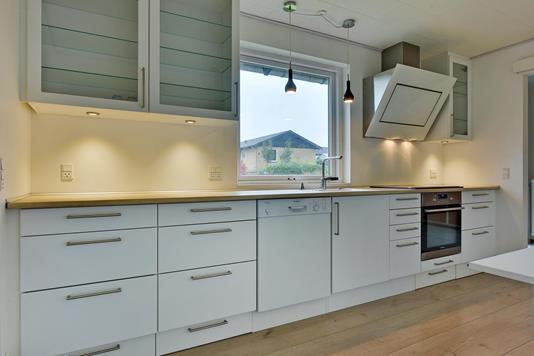 Villa på Lærkevej i Aarup - Køkken