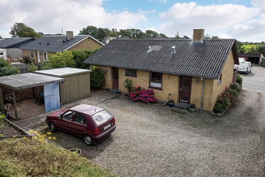Villa på Kertevej i Aarup - Ejendommen