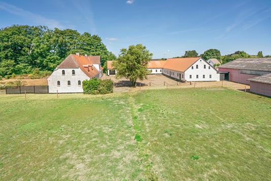 Landejendom på Chr. Richardtsvej i Glamsbjerg - Ejendommen