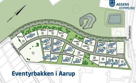 Helårsgrund på Eventyrbakken i Aarup - Andet