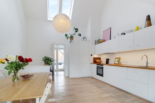 Villa på Lillegrund i København S - Køkken