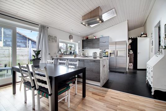 Villa på Hf. Kongelund i København S - Køkken alrum