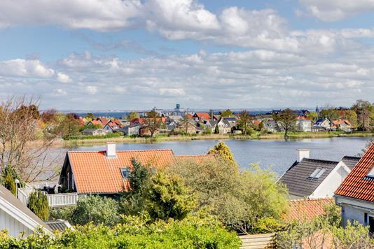 Villa på Søvej i Hornbæk - Søudsigt