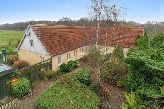 Villa på Skovsrodvej i Låsby - Set fra haven