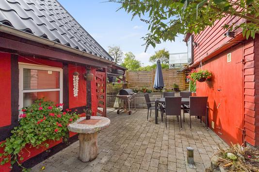 Villa på Søballevej i Galten - Terrasse