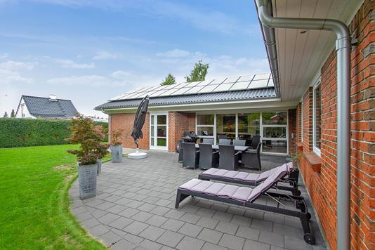 Villa på Østergade i Galten - Terrasse