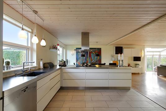 Villa på Lyngfeldvænget i Galten - Køkken
