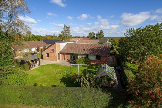 Villa på Vestergade i Galten - Set fra haven