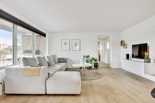 Villa på Horsevej i Galten - Stue