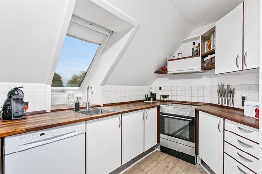 Ejerlejlighed på Nørregade i Galten - Køkken