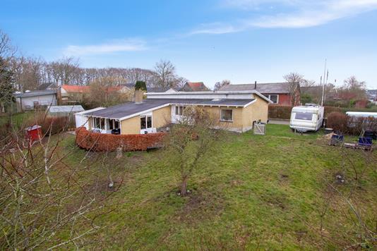 Villa på Provstevænget i Galten - Set fra haven