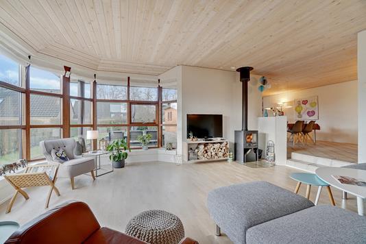 Villa på Nytoften i Harlev J - Stue