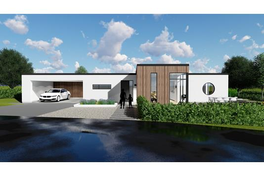 Villa på Møddebro Parkvej i Solbjerg - Ejendommen