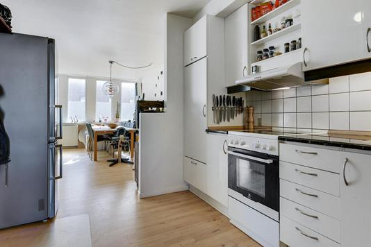 Ejerlejlighed på Overgade i Odense C - Køkken
