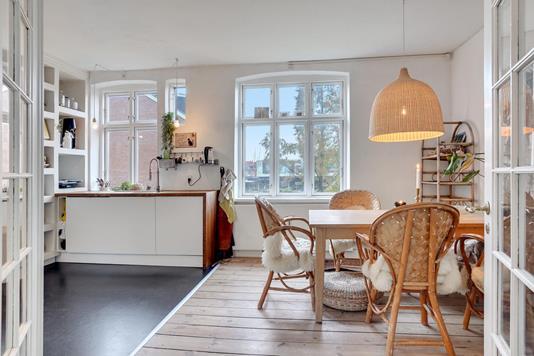 Ejerlejlighed på Dronningensgade i Odense C - Køkken alrum